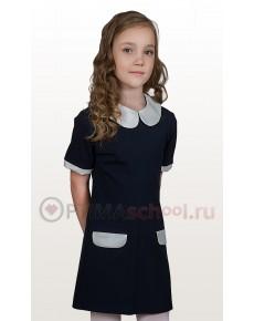 платье р.30-38 ЛЮБАША с коротким рукавом