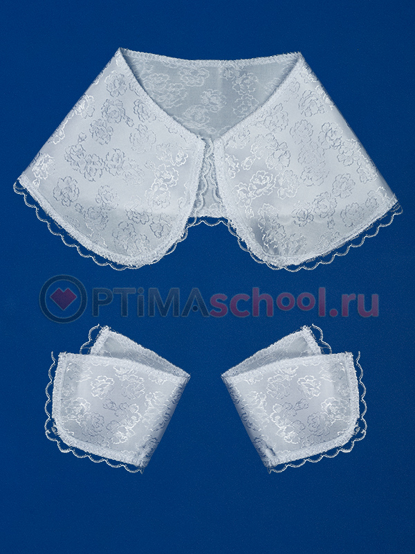 Выкройка воротничок и манжеты для платья